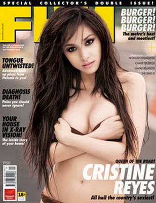 Sam Pinto Tops FHM 100 Sexiest, Philippines
