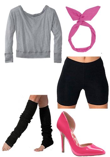 Easy Flashdance Costume