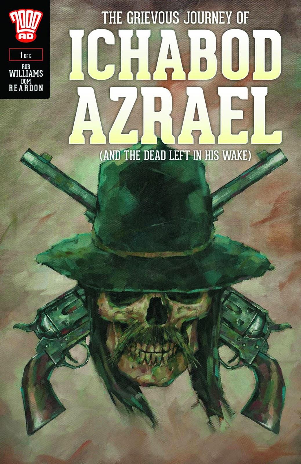 Ichabod Azrael cover, TheCultDen