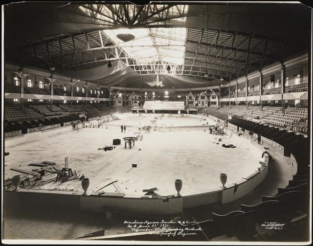 Old photos of madison square garden ii from 1890 1925 - How old is madison square garden ...