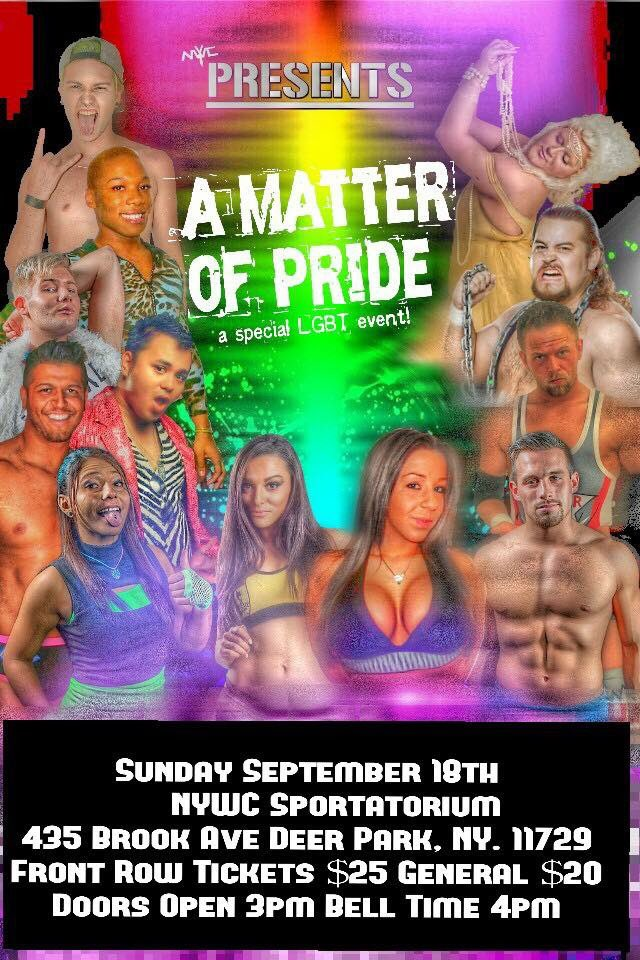 NYWC Presents A Matter of Pride
