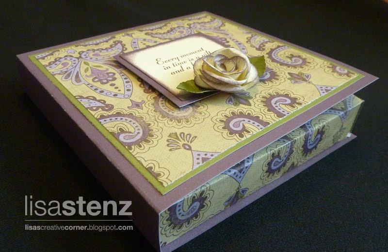 Lisa\'s Creative Corner: Sonoma Boxed Wedding Invitation