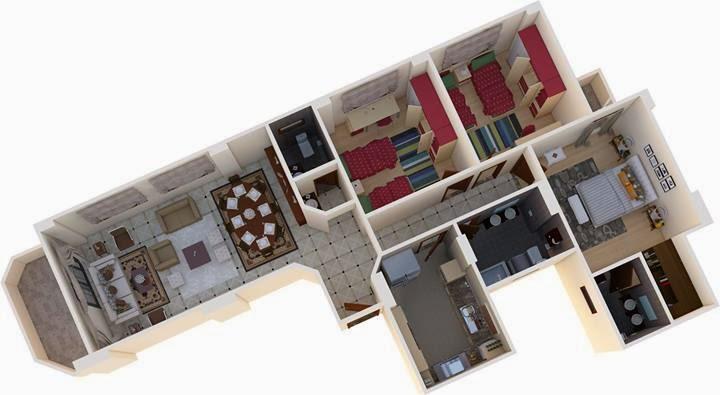 تحميل برنامج 4.3 Sweet Home 3D لتصميم المنازل