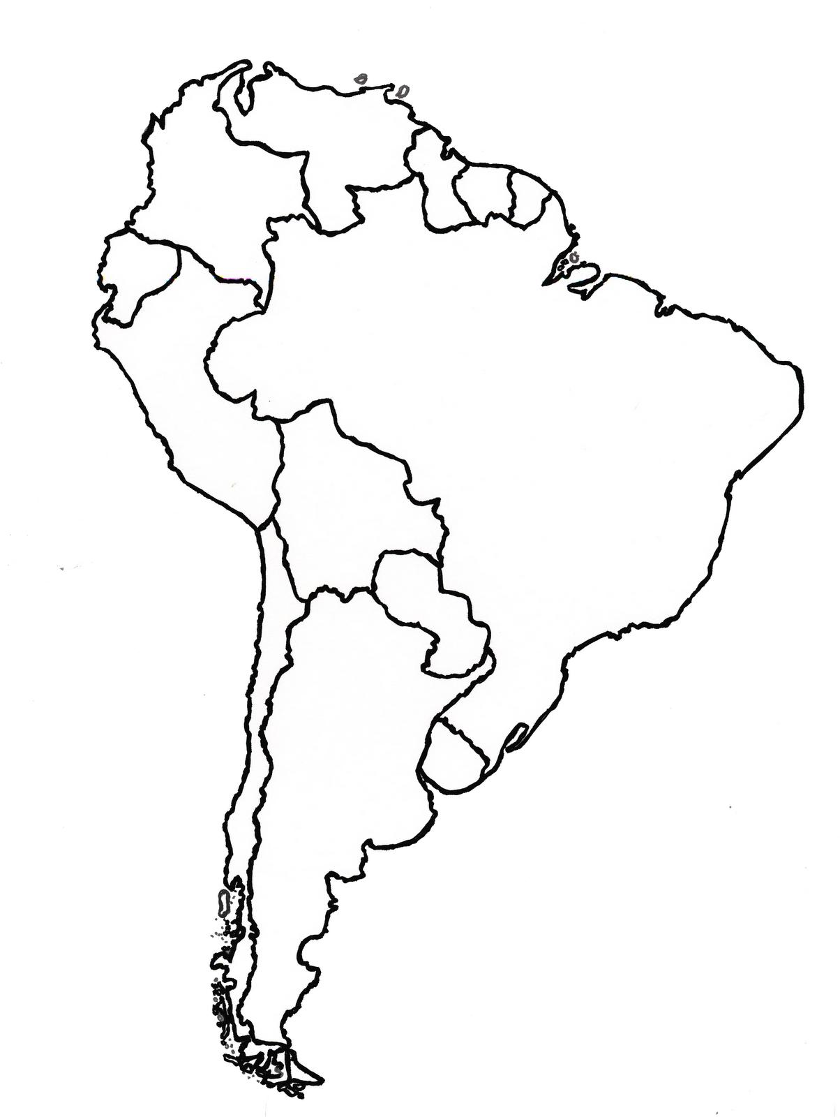 Mapa mudo america del sur - Imagui