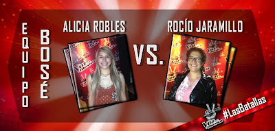 Alicia Robles vs Rocio Jaramillo