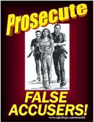 Prosecute false accusers