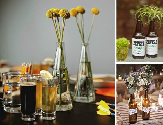 ideas_fiesta_cata_cervezas_amigos_casa_imagen_flores_botellas_decorar