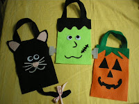 Felt Treat Bags Photo