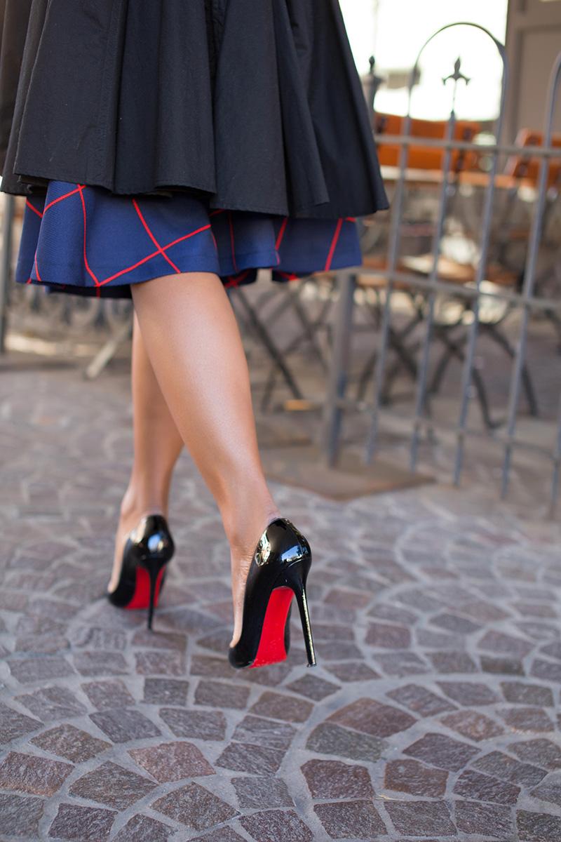 Christian Louboutin, Chicwish skirt, www.jadore-fashion.com