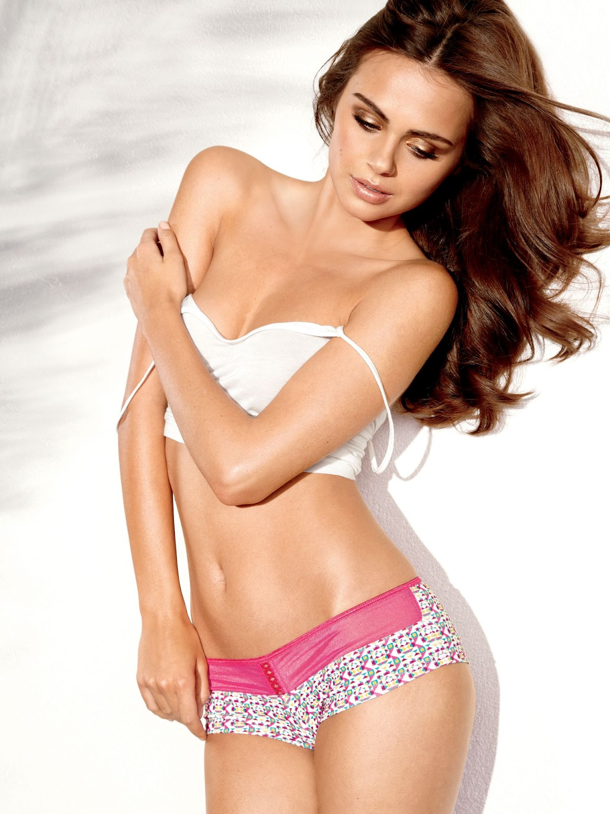 Xenia Deli Fredericks of Hollywood Lingerie Hot and Very