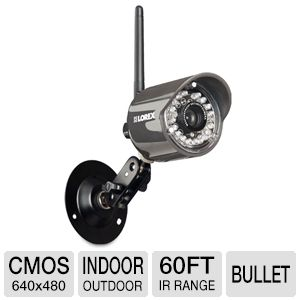 Lorex LW2110 Wireless Digital Security Camera - CMOS Sensor, 60ft IR Night Vision