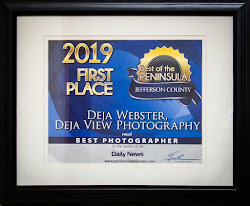 Deja View Photography wins 2019 Best of the Peninsula for Jefferson County sponsored by the PDN