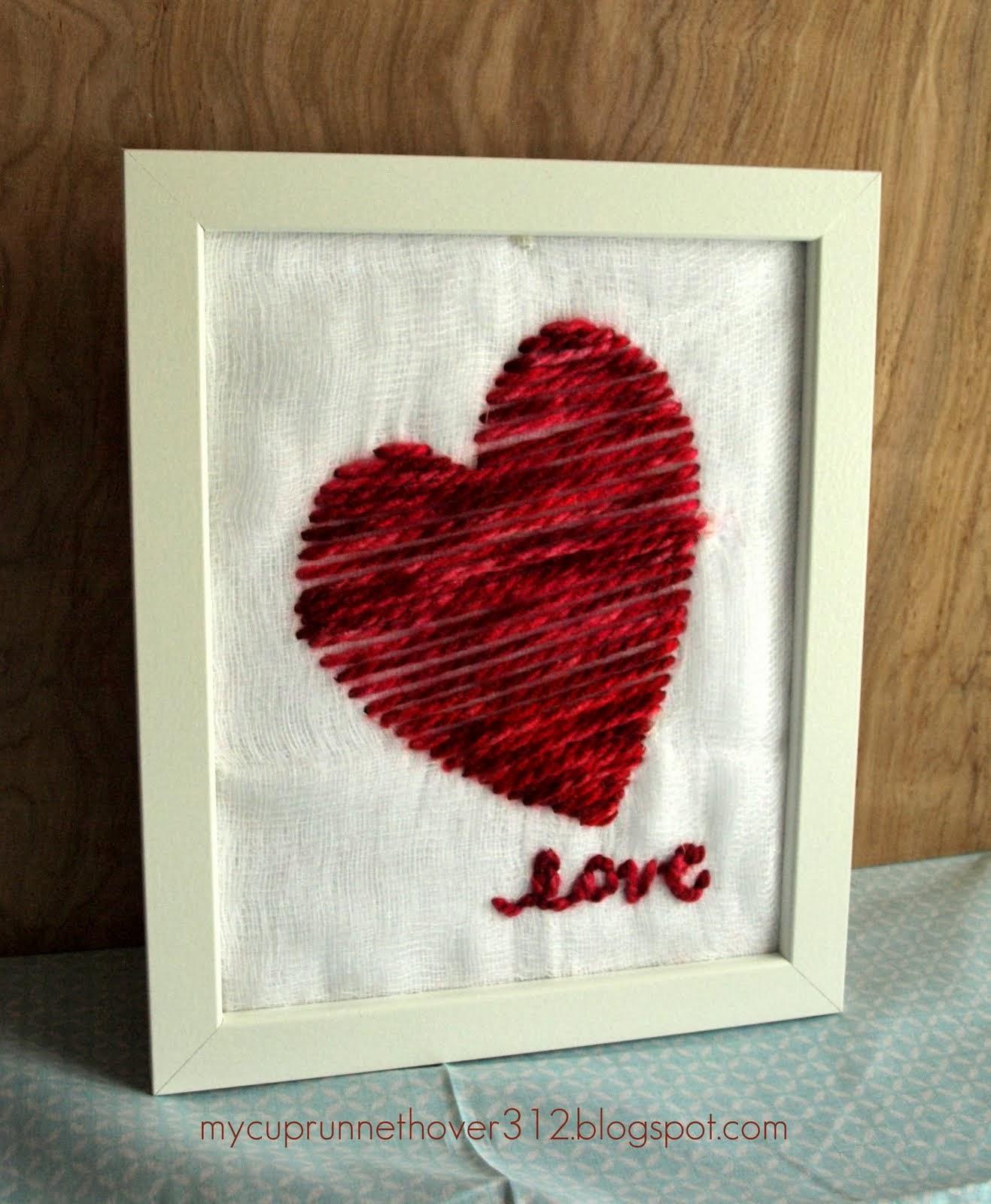 http://mycuprunnethover312.blogspot.com/2014/01/valentines-day-yarn-art.html