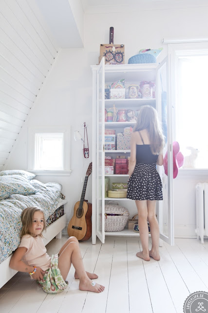 Детской комнаты в скандинавском стиле