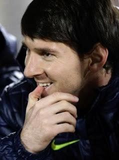 Messi jugó por primera vez el primer partido del año