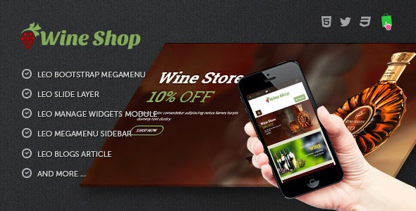 wineshop template