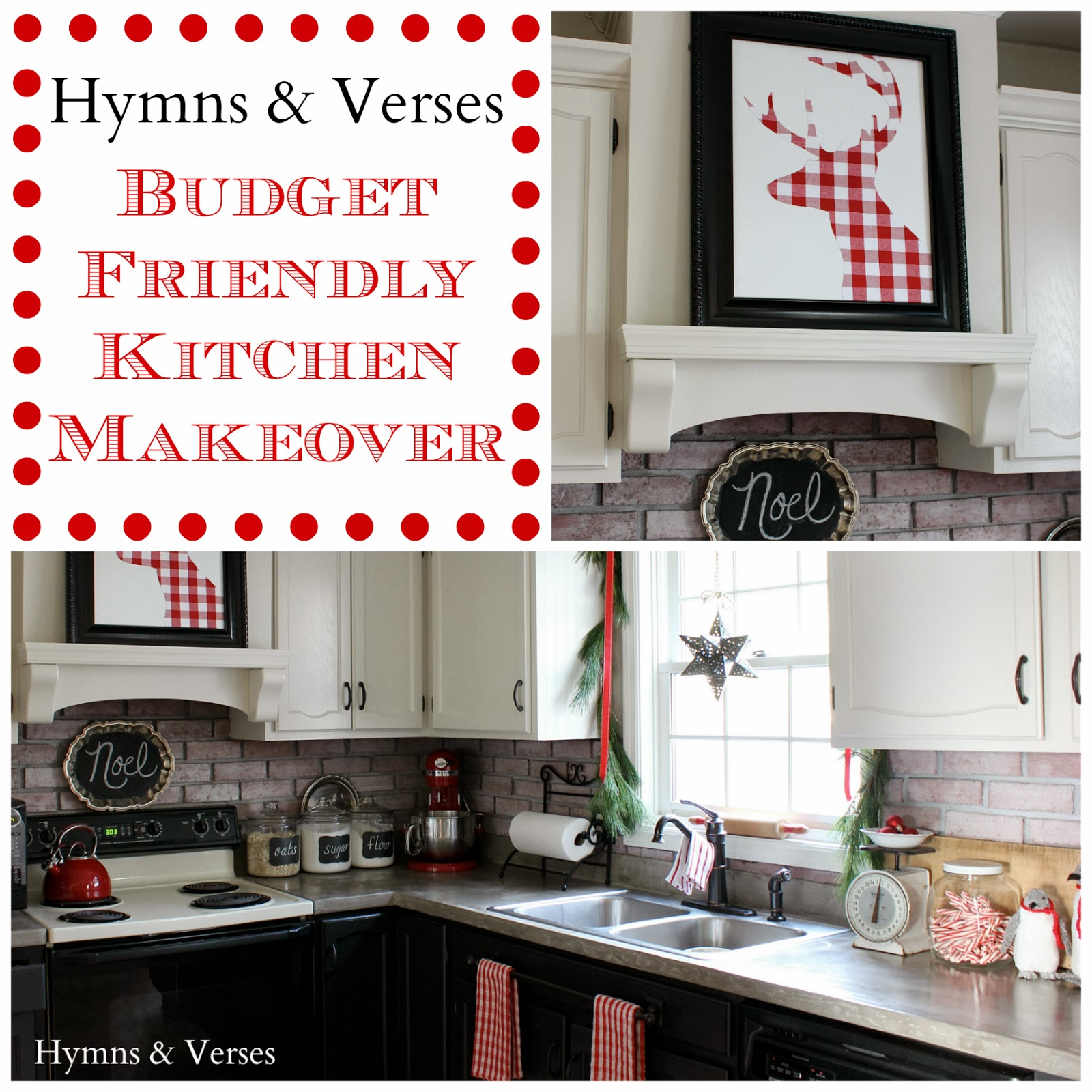 Our DIY Kitchen Makeover | Hymns and Verses