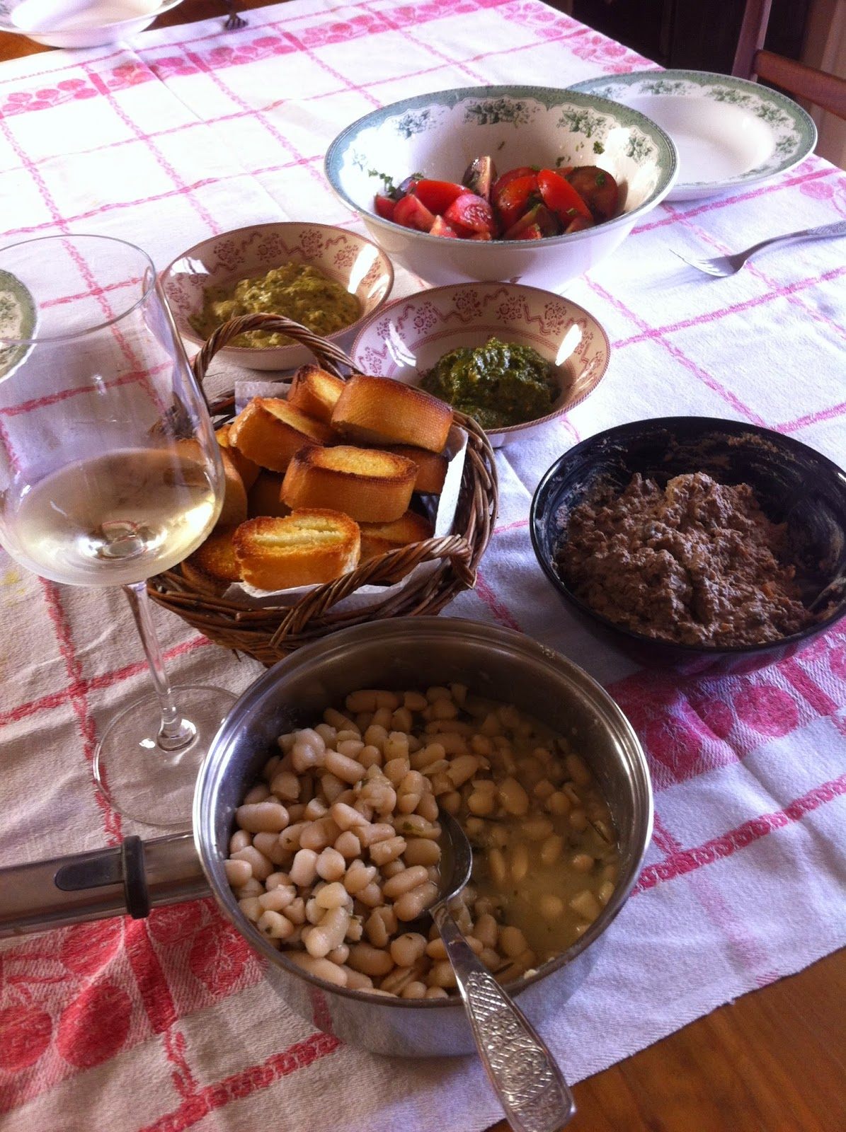 haricots blancs sauge romarin