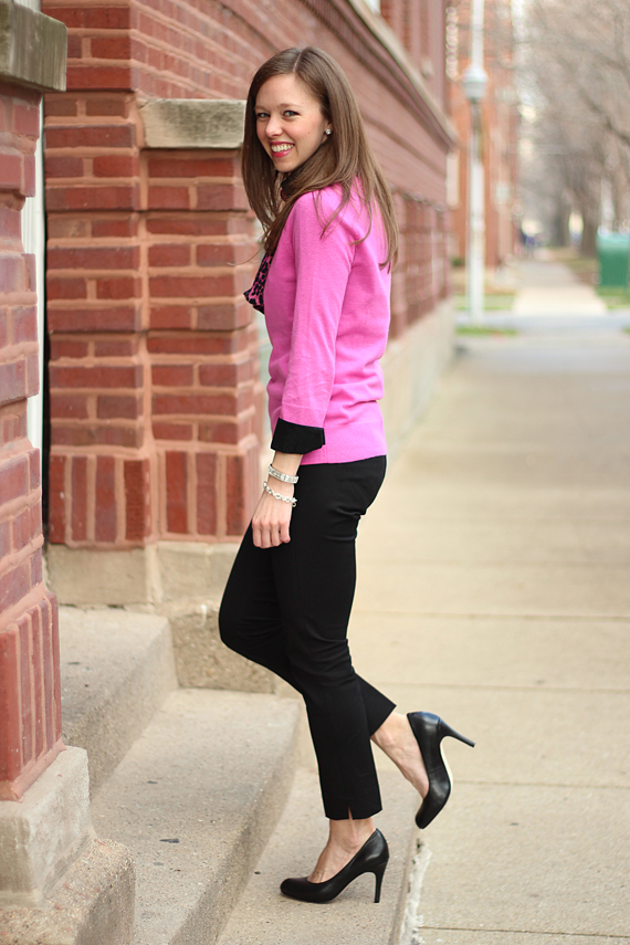 StyleSidebar - Hot Pink and Black