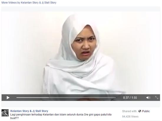 Video BFMRadio yang menampilkan seorang gadis bernama Aisyah Tajuddin yang mengkritik Hukum Hudud dilaksanakan oleh kerajaan PAS Kelantan menjadi viral
