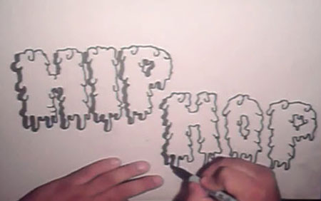 Step By Step How To Draw Graffiti Letters Video Lessons Of Drawing