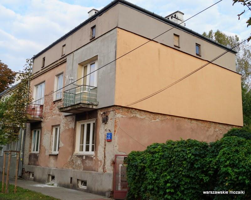 Warszawa Praga Południe Grochów kolonia osiedle dworkowe willa PPS