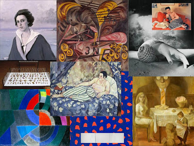 A Collage of Some of Our Favorite Artists at Elle:Pompidou Exhibition