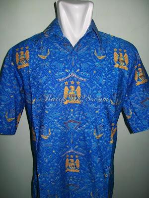 Jual Batik Bola Manchester City Asli Pria Tampan