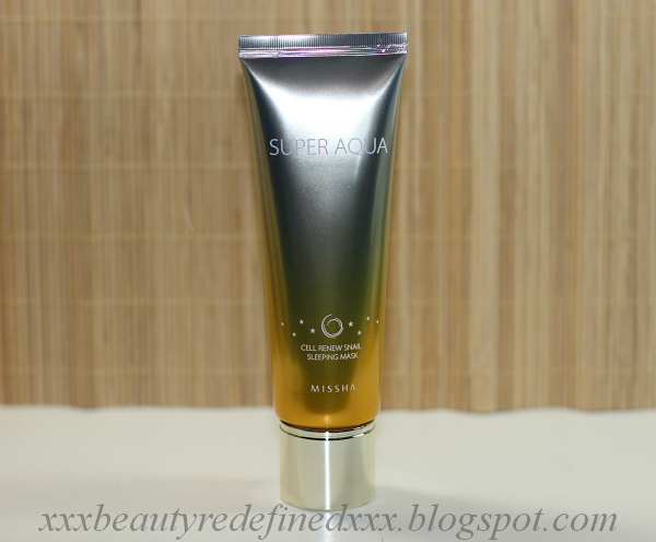 BeautyRedefined by Pang: Missha Super Aqua Cell Renew Snail ...