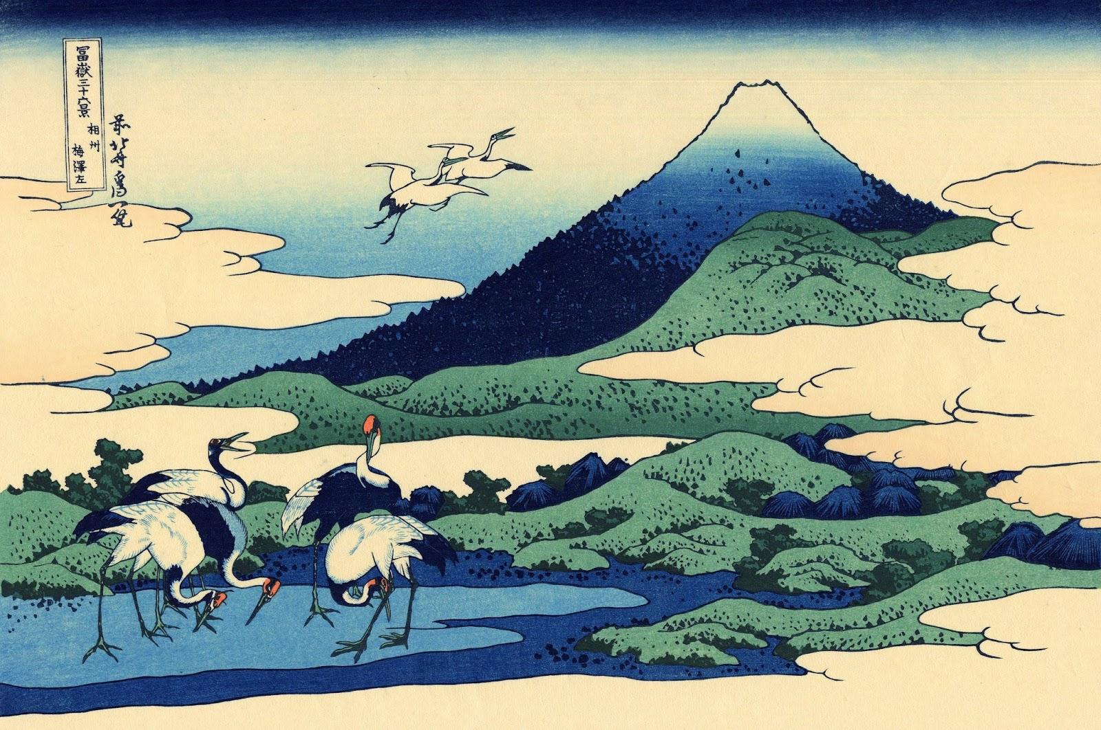 hokusai katsushika The works of japanese painter hokusai set to traditional japanese music i had to loop the music forgive me.