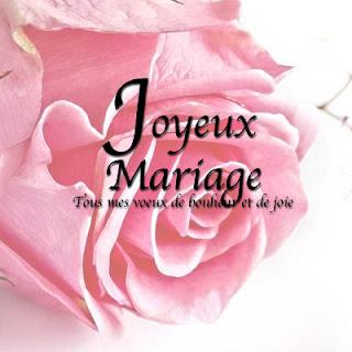 Carte heureux mariage