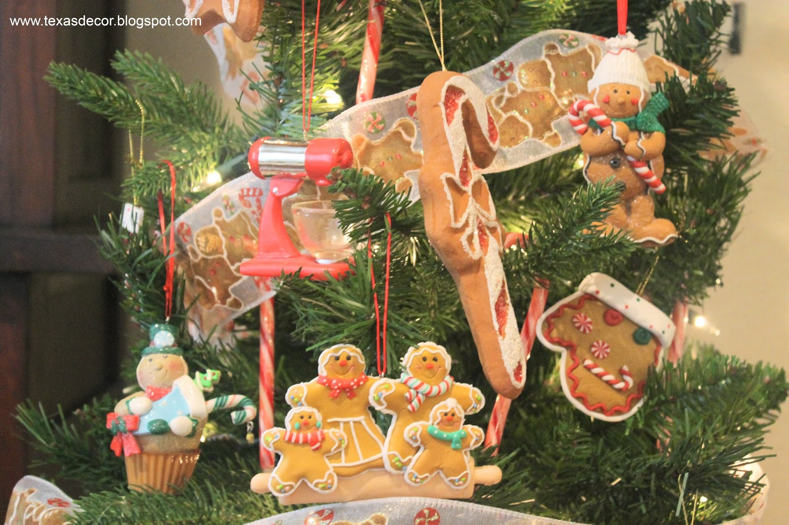 montgomery ward gingerbread ornaments