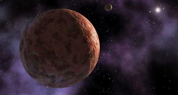 À semelhança do Sedna um novo planeta anão foi descoberto na borda do sistema solar