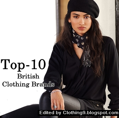 Top 10 most popular british clothing brands designers for Famous british designers