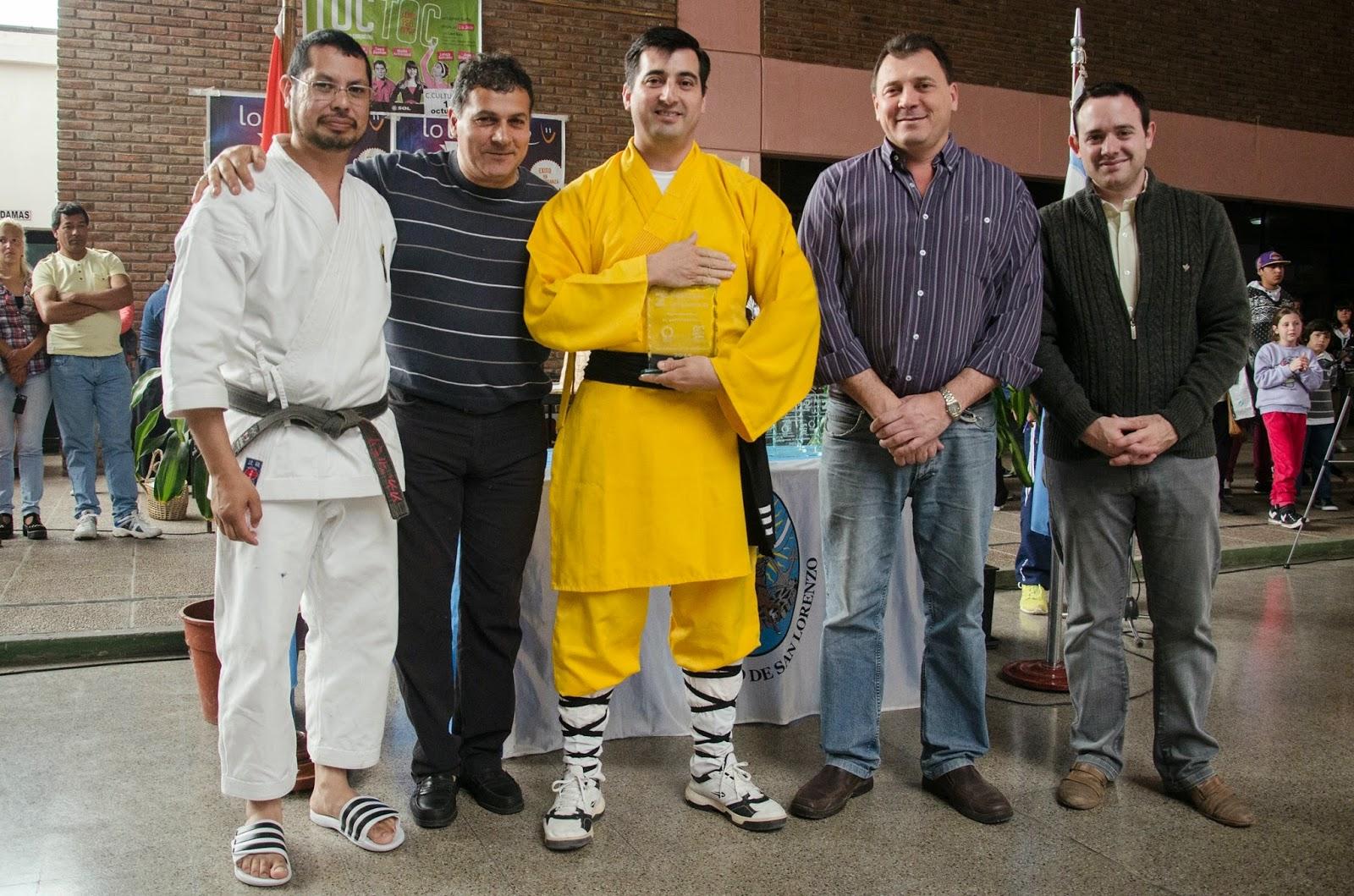 Las escuelas de artes marciales se lucieron en San Lorenzo