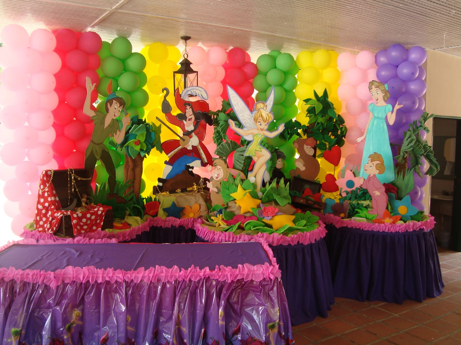 Decoracion tinkerbell para fiestas for Ver decoraciones