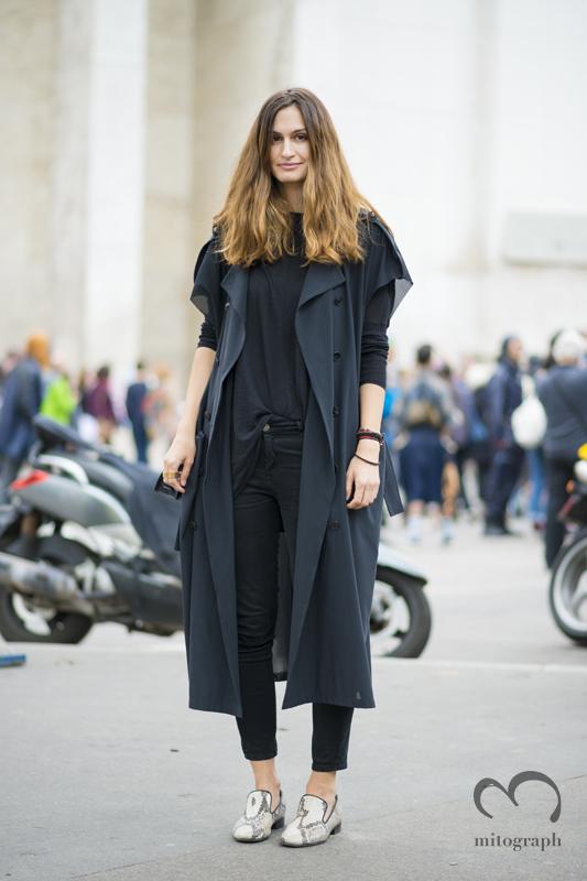 mitograph Isabelle Kountoure Paris Mens Fashion Week 2014 Spring Summer PFW Street Style Shimpei Mito