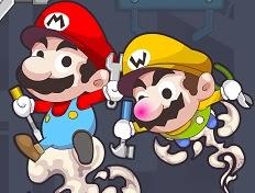 2 Kişilik Osuruklu Kardeşler Mario ve Luigi