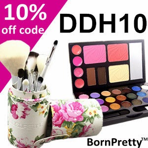 Get 10% off on your purchase from BornPretty Store