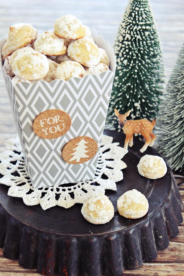Weihnachtskekse mit marzipan