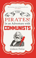 The Pirates! in an Adventure with Communists book cover, by Gideon Defoe