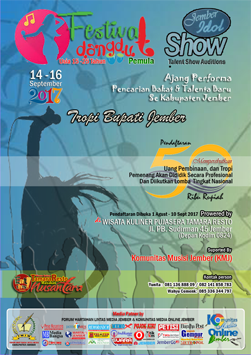 Festival Dangdut  Idol Jember 2017