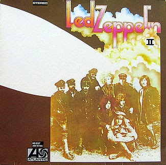 Led Zeppelin - Led Zeppelin II album cover, 1969