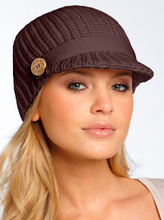 Модные женские вязаные шапки