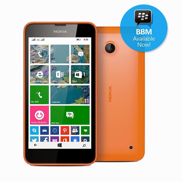 Akhirnya BBM Kini Hadir di Nokia Windows Phone