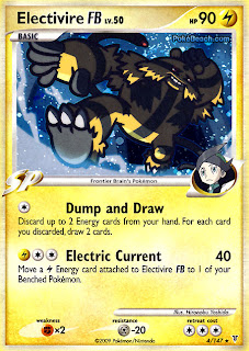 Electivire FB Pokemon Card Supreme Victors set