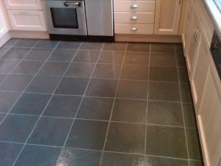 how to grout lines