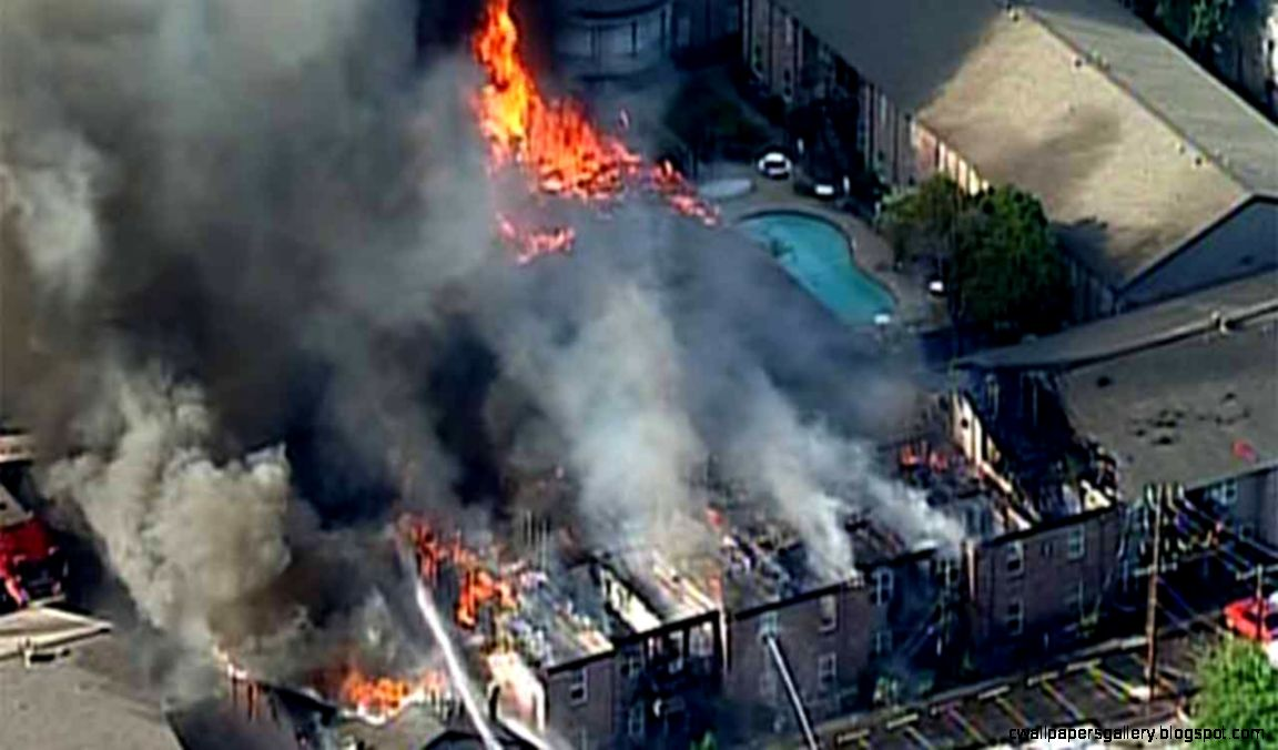 Families displaced following massive four alarm fire in NW Houston