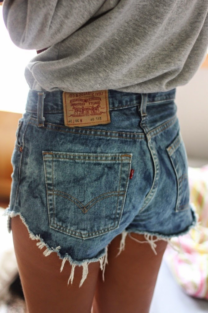 Сделать модные шорты