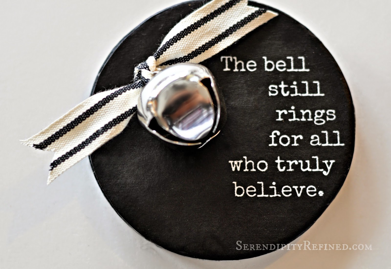 Serendipity refined polar express bell quote